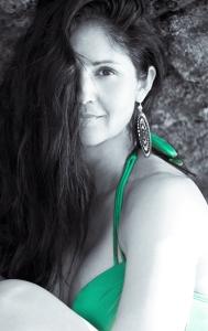 Lanisha Cole Photography- Swimsuit Photo Shoot- Point Dume Beach- Malibu- California 2- Black and White-2