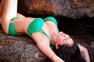 Lanisha Cole Photography- Swimsuit Photo Shoot- Point Dume Beach- Malibu- California 3-2