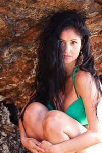 Lanisha Cole Photography- Swimsuit Photo Shoot- Point Dume Beach- Malibu- California 6-2