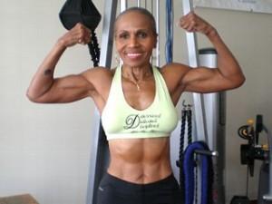 Bodybuilding Granny