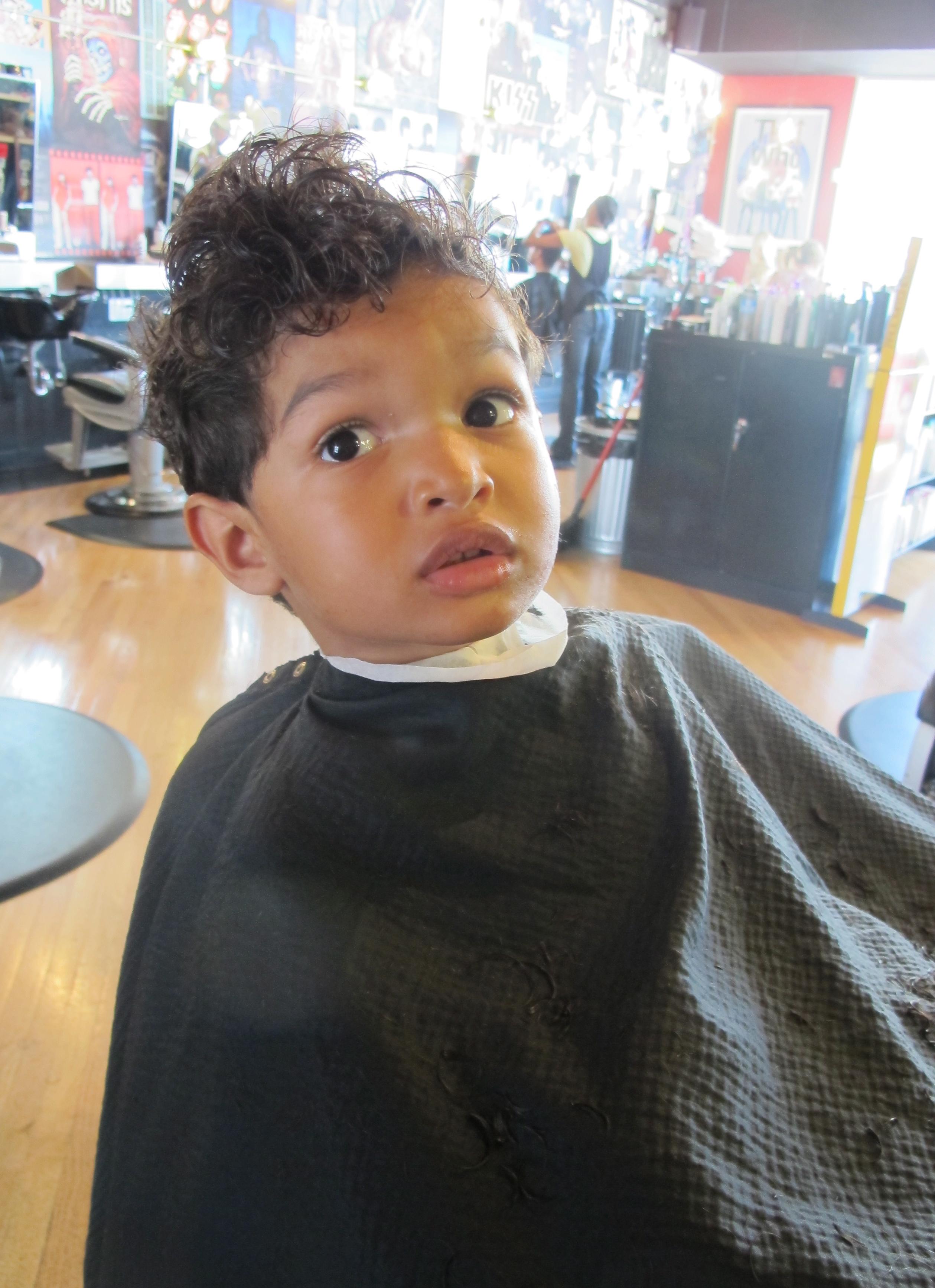 Bs Big Boy Haircut At Floyds A Hot Mama