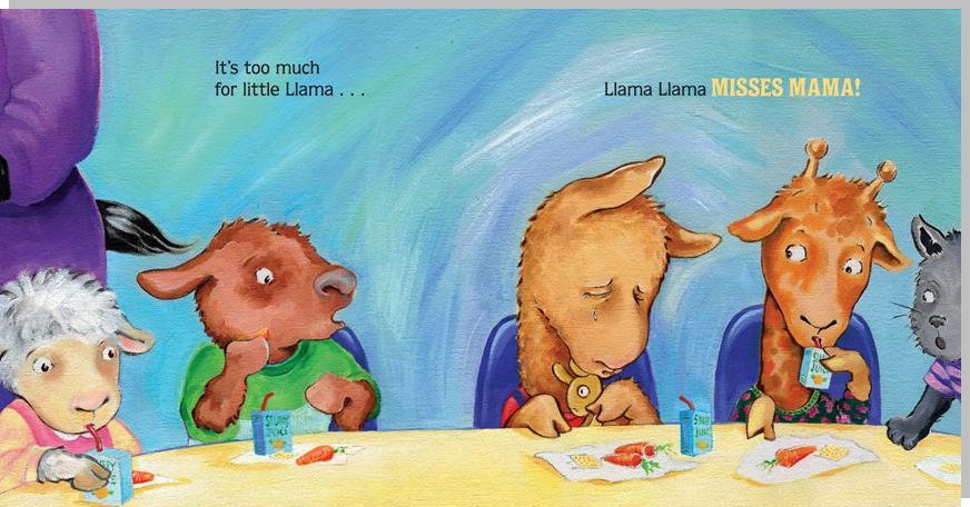 Picture Of A Llama Crying: Llama Llama Books Make My Kids Cry
